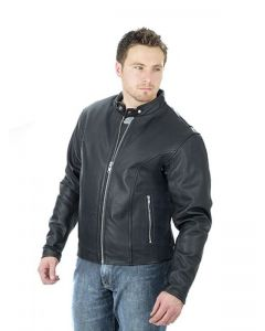 LJ021 COMPETITION LEATHER JACKET