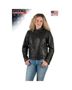544N Ladies Leather Jacket